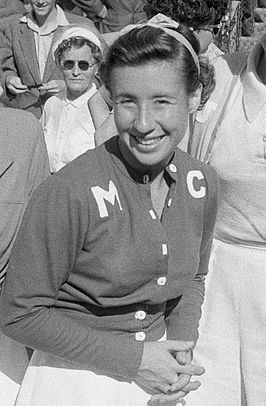 Maureen Connolly in 1953