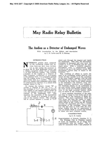 File:May 1916 QST.djvu
