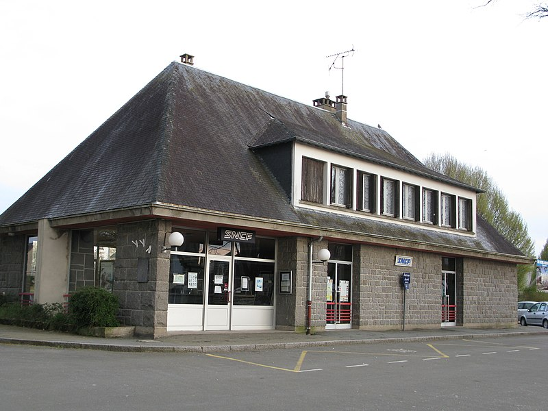 L'ancienne gare SNCF de Mayenne.
