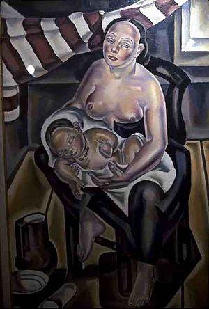María Blanchard - Maternity (1925)