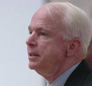 Political positions of John McCain - U.S. Senator John McCain