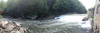McConnells Mill State Park - Image: Mc Connells Mill State Park Panorama