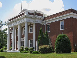 McCormick County Courthouse - McCormick County Courthouse, June 2018