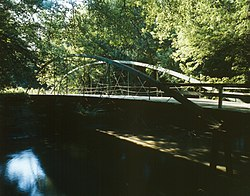 McDowell Bridge, Spanning North Skunk River, Montezuma vicinity (Poweshiek County, Iowa).jpg