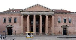 Copenhagen City Hall - The former city hall of 1815