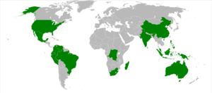 The 17 countries identified as megadiverse by ...
