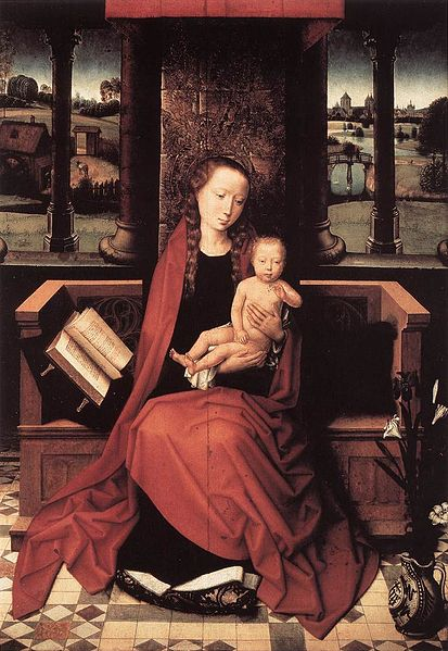 File:Memling Virgin and Child Enthroned.jpg