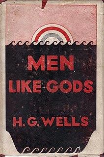 <i>Men Like Gods</i> book by Herbert George Wells