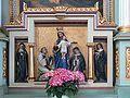 Merazhofen Pfarrkirche Marienaltar Predella.jpg