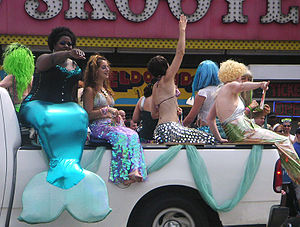 Coney Island Mermaid Parade - Coney Island Mermaid Parade, 2004