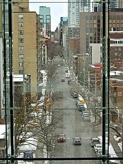 Metcalfe Street (Ottawa) street in downtown Ottawa