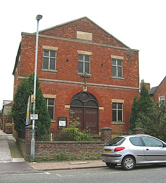 Primitive Methodism in the United Kingdom - Image: Methodist Chapel Welsh Row Nantwich