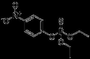 Parathion - Image: Methyl&Ethylparathio n