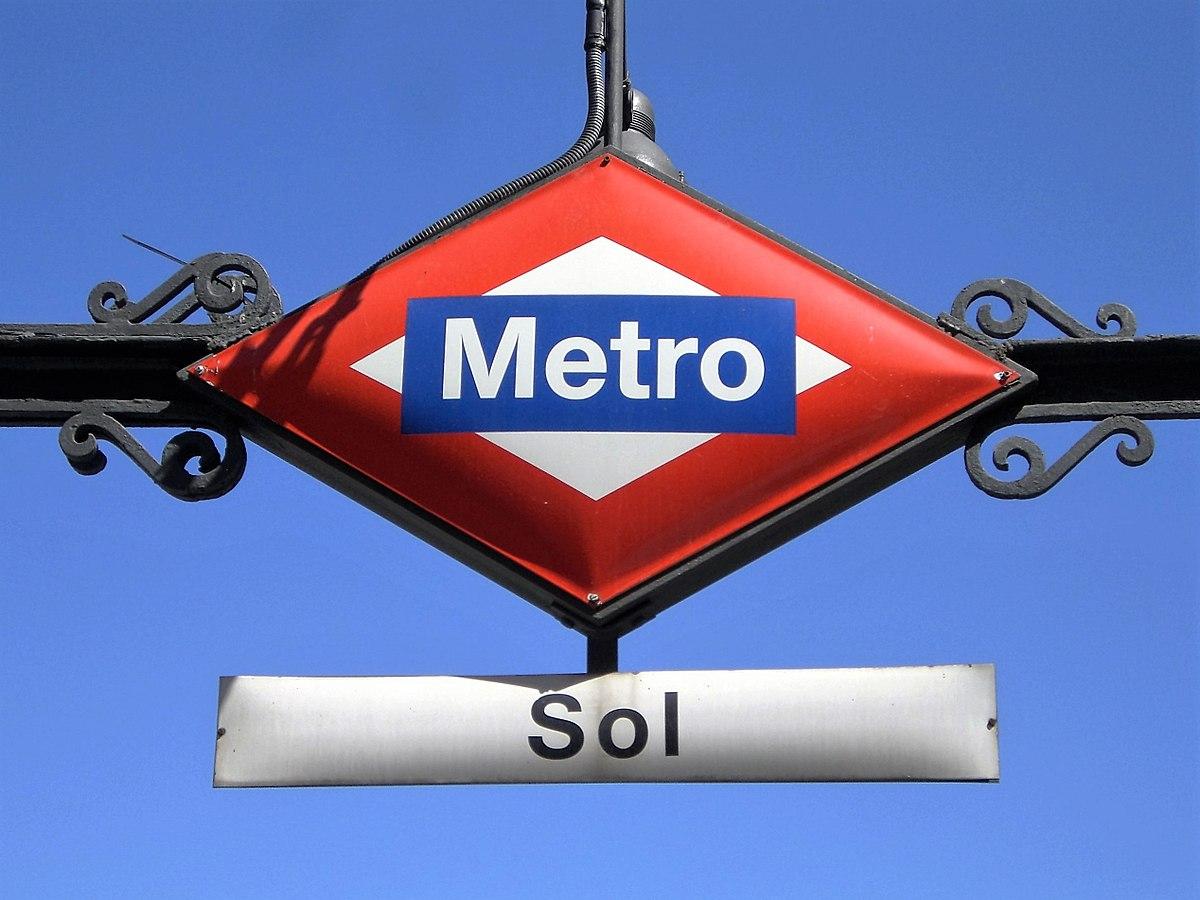 Sol (Madrid Metro) - Wikipedia