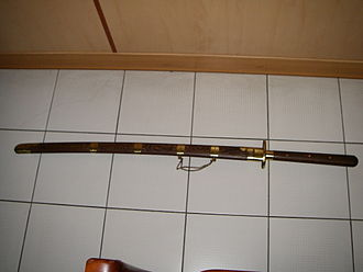 Miaodao - Miaodao in its scabbard