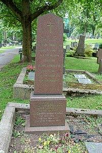 Michael Birkeland, gravminne på Vår Frelsers gravlund, Oslo 1.jpg