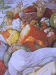 Michelangelo Sistine Chapel ceiling - Brass serpent detail.JPG