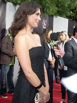 Michelle Forbes at True Blood premiere party.jpg