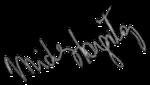 Микки Харгитей подпись 1959.png