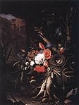 Mignon, Abraham - Still-Life with Fishes and Bird Nest - c. 1670.jpg