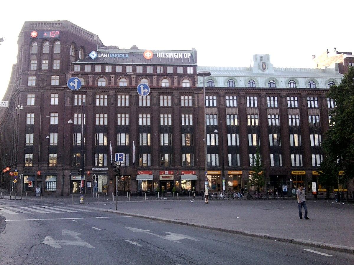 Tulipalo Helsinki