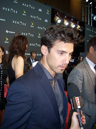 Milo Ventimiglia - Ventimiglia at the season three premiere of Heroes, 2008.