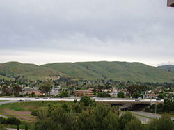 City of Milpitas, California的天際線