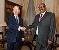 Minister Henry Bellingham greets the President of Somaliland (5203929836).jpg