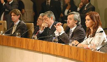 Ministros de Cristina