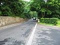 Minor road heading towards bridge over the burn at Gogar - geograph.org.uk - 1381398.jpg