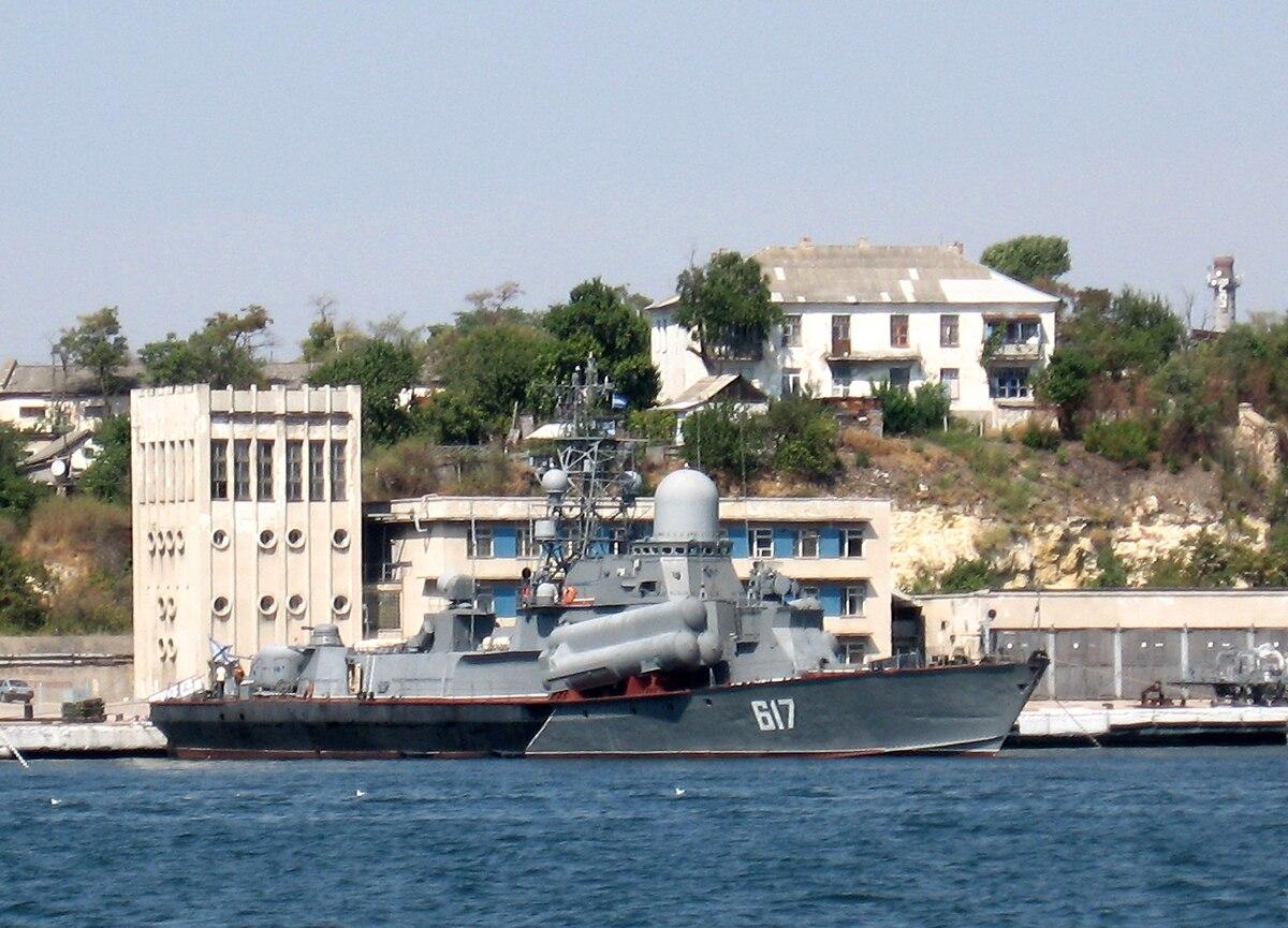 Российско-грузинский бой в Чёрном море — Википедия