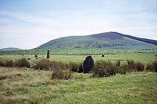 Corndon Hill Mountain in United Kingdom