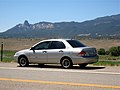 Mitsubishi Lancer (2000) left rear quarter (2823592753).jpg