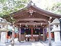 Miyake Hachiman-gu haiden.jpg