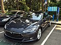 Model S Charging at Parksville beach BC Canada.jpg