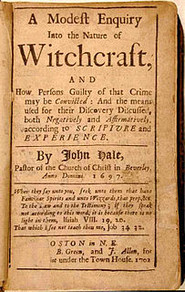 John Hale (minister) Puritan pastor of Beverly, Massachusetts, during the Salem witch trials