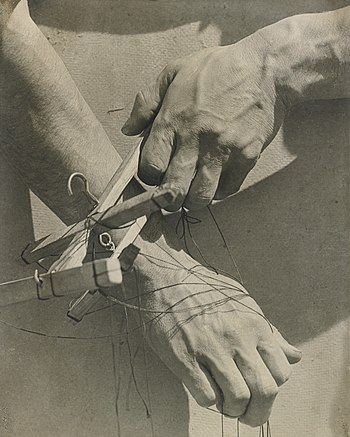 Tina Modotti, 'Hands of the Puppeteer', 1929