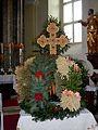 Modriach Pfarrkirche Erntekrone 2016.jpg