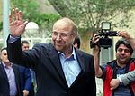 Mohammad Bagher Ghalibaf registering at the 2017 Iranian presidential election 01.jpg
