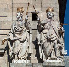 representaçao dos reis Josias e Menashé