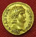 Monetiere di fi, moneta romana imperiale di nerone.JPG