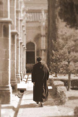 Paular Monastery, started building on 1390. A ...