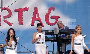 Monrose - Monrose promoting Ladylike at the FFN Kindertag in June 2010.