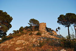The ruins of Monte Castello