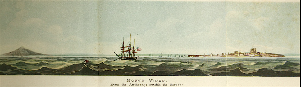 Monte Video from the Anchorage outside the Harbour