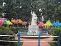 Montfort Statue in loyola.jpg