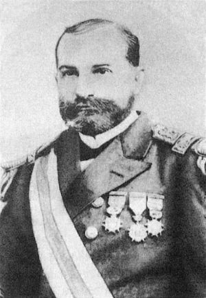 Chilean Civil War of 1891 - Captain Jorge Montt