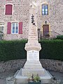 Monument aux morts de Coublanc, Saône-et-Loire 1 (août 2020).jpg