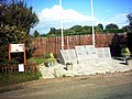 Monument to the people that served at Leiston Airfield, Station 373 - geograph.org.uk - 252574.jpg