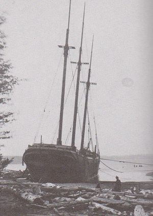 The Moonlight, ashore near Marquette, Michigan.